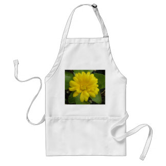 Bright Yellow Marigold Apron