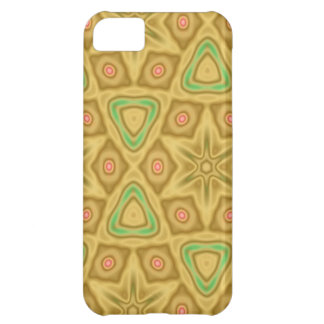 Bright yellow pattern iPhone 5C case