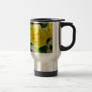 Bright Yellow Rose Mug