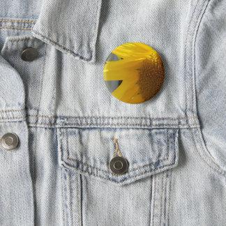 Bright Yellow Sunflower 6 Cm Round Badge