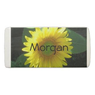 Bright Yellow Sunflower Eraser