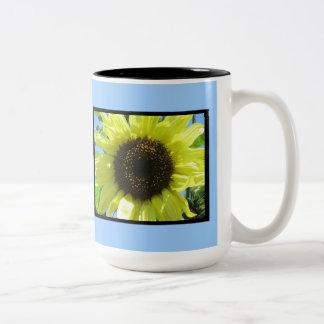 Bright Yellow Sunflower Mugs
