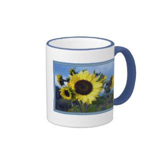 Bright Yellow Sunflowers Mug