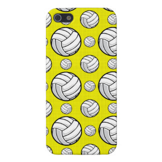 Bright Yellow Volleyball Pattern Case For The iPhone 5