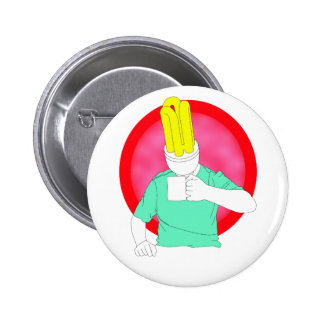 bright young thing button
