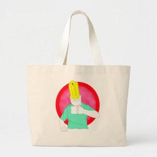 bright young thing jumbo tote bag