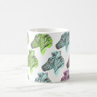 Bright Zebra Pattern Mug