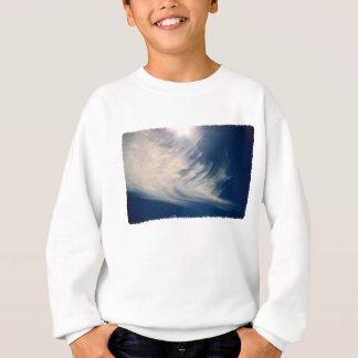 Brighten your Day!  Luminous Sun and Wispy Clouds Sweatshirt
