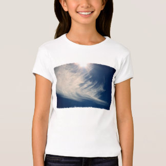 Brighten your Day!  Luminous Sun and Wispy Clouds T-Shirt