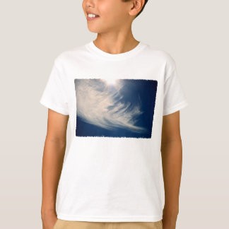 Brighten your Day!  Luminous Sun and Wispy Clouds T Shirt