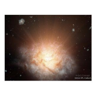 Brightest Galaxy Postcard