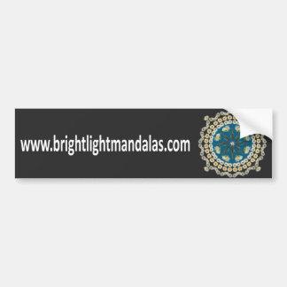 Brightlight Mandalas Bumper Sticker