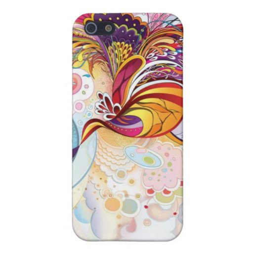 Brightly Abstract iPhone 5 Covers