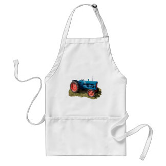 Brightly Colored Antique Vintage Tractor & Field Standard Apron