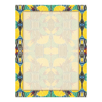 Brightly Colored Art Deco Pattern 21.5 Cm X 28 Cm Flyer