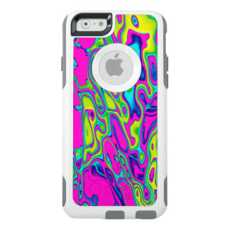 Brightly Colored Crazy Colorful Abstract Pattern OtterBox iPhone 6/6s Case