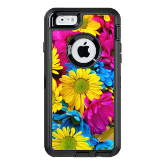 Brightly Colored Daisies OtterBox Defender iPhone Case
