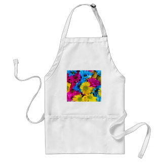 Brightly Colored Daisies Standard Apron