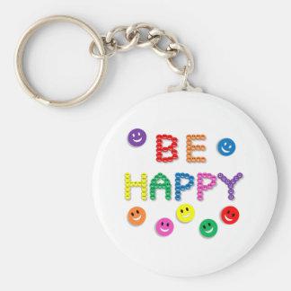 Brightly colored, fun, key chain