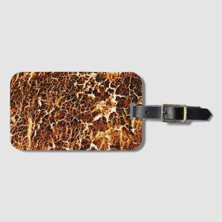 Brightly Colored Funky Cool Luggage Tag