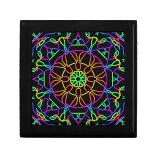 Brightly Colored Kaleidoscope Gift Box