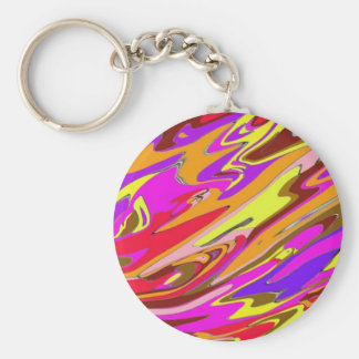 Brightly-Colored Key Chain