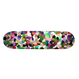 Brightly Colorful Multi-Color Pattern Skate Decks