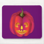 Brightly Coloured Jack-O-Lantern Halloween Mousepads