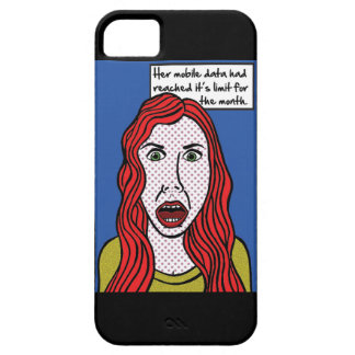 Brightly coloured womens phone case