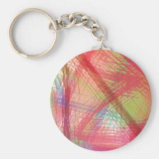 Brightly Splatters TPD Key Chain