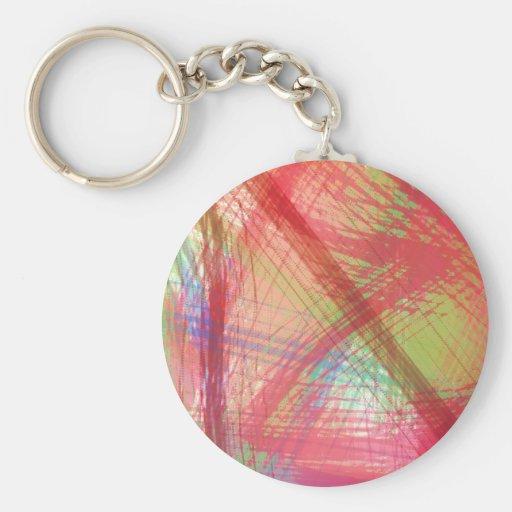 Brightly Splatters TPD Key Chain