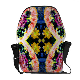 Brightness Of Kaleidoscope - night- Courier Bags