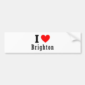 Brighton, Alabama City Design Bumper Sticker