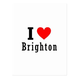 Brighton, Alabama City Design Postcard