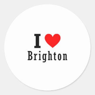 Brighton, Alabama City Design Sticker