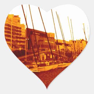 brighton beach (07) heart sticker