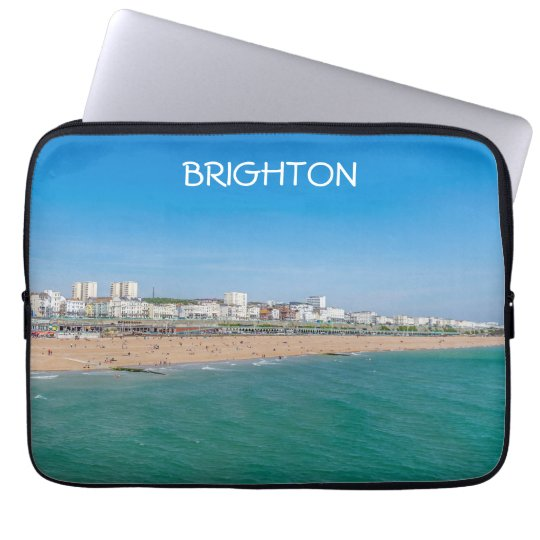 Brighton beach laptop sleeve