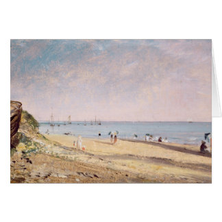 Brighton Beach (oil on canvas) Card