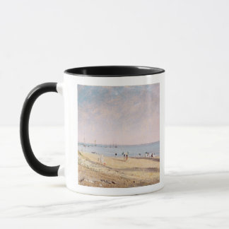Brighton Beach (oil on canvas) Mug