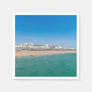 Brighton beach paper napkins