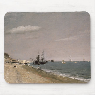 Brighton Beach with colliers, 1824 Mouse Pad