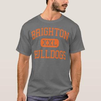 Brighton - Bulldogs - High - Brighton Michigan T-Shirt