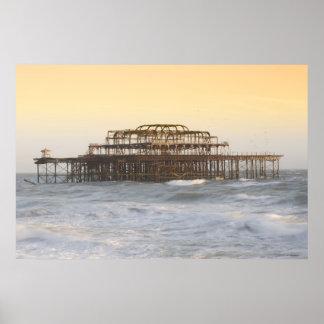 Brighton, England 3 Poster