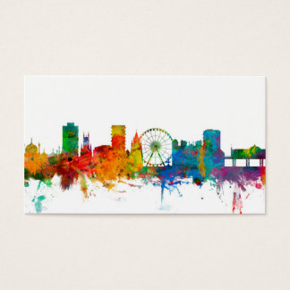 Brighton England Skyline Business Card