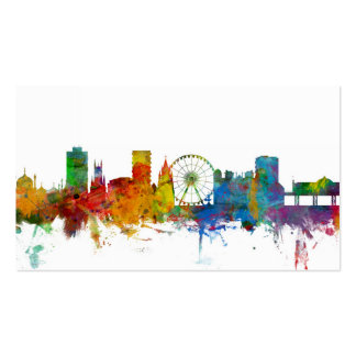 Brighton England Skyline Pack Of Standard Business Cards