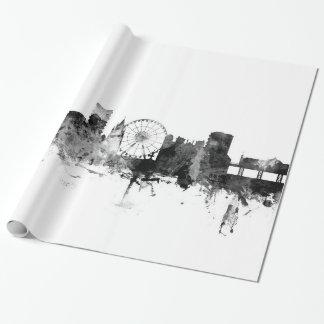Brighton England Skyline Wrapping Paper