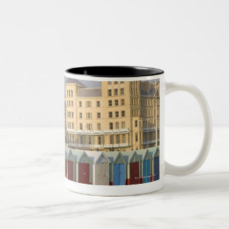 Brighton, England Two-Tone Coffee Mug