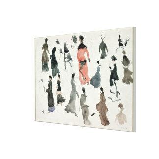 Brighton Ladies Canvas Print