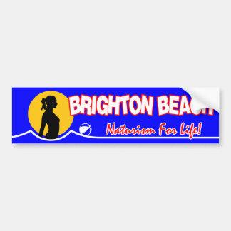 Brighton Nudist Beach Bumper Sticker