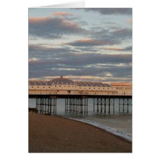 Brighton Palace Pier Card